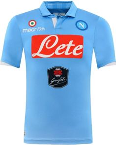 Napoli Italian Series A Home Jersey Shirt Kit 2014 2015   Have a Fun Flag  Wig ! Flag Wigs e7bd3043a