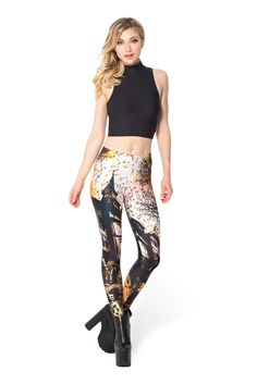 Haunted House 3.0 Leggings (WW ONLY 48HR $75AUD) by Black Milk Clothing