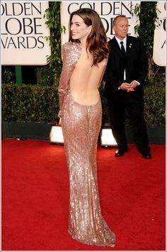 Anne Hathaway: 2011 Golden Globes