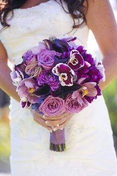 Bridesmaids Inspiration - Bouquet by Pixies Petals - www.pixiespetals.com  Lucero Photography