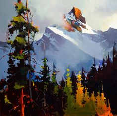 Between Sky and Mountain, Yoho National Park, by Michael O'Toole