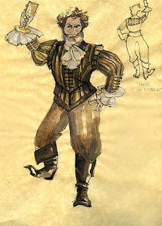 Twelfth Night (Sir Toby). American Players Theatre. Costume design by Rachel Anne Healy.