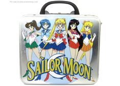 Sailor Moon Metal Lunchbox Inner Senshi Standing - Click Image to Close