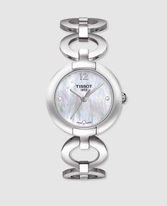 d76c344b6cfa Reloj de mujer Tissot T0842101111601 de acero