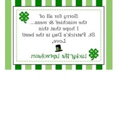 FREE printable: Reverse note from the leprechaun--the kids have to read it via a mirror. Those ornery leprechauns! Lucky The Leprechaun, Leprechaun Games, St Pattys, St Patricks Day, March Lesson Plans, Daycare Themes, St Paddys Day, Kindergarten Writing, Luck Of The Irish