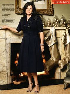 Kirstie Allsopp perfect size and love her style Love Her Style, Style Me, Retro Style, Kirstie Allsopp Dresses, Retro Fashion, Vintage Fashion, Domestic Goddess, Celebs, Celebrities