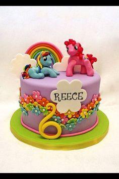 My little pony cake- cute!