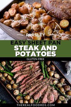 Steak Dinner Recipes, Healthy Dinner Recipes, Indian Food Recipes, Beef Recipes, Whole Food Recipes, Cooking Recipes, Healthy Steak Recipes, Meat And Potatoes Recipes, Steak Dinners