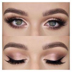 Subtle Smokey Eye Makeup Look - Pinterest @ My Blessing by Grace
