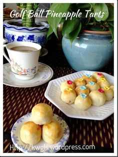 This post is updated on January 2014 with the inclusion of a VEGETARIAN RECIPE. Pineapple Tart, Golf Ball, Vegetarian Recipes, Wellness, Tarts, Asian, Fruit, Grandmothers, Drink Recipes