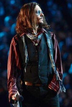 Jhonny Depp en los #Grammys