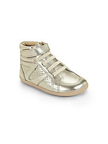 Old Soles - Infant's, Toddler's & Kid's Metallic Leather High-Top Sneakers
