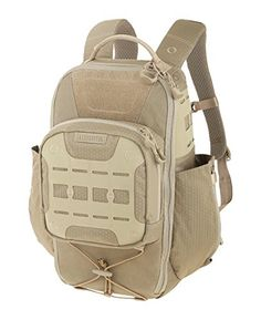 Maxpedition Lithvore Backpack - Tan   http://huntinggearsuperstore.com/product/maxpedition-lithvore-backpack/?attribute_pa_color=tan