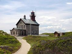 Photo of Block Island (North) Light by RicksLighthouses