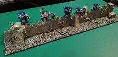 Warhammer Diorama Bretterzaun