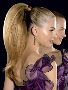 Hair Styles 2018 Top 20 & Easiest Prom Party Hairstyles Ideas for Girls & Women Long Ponytail Hairstyles, Ponytail Styles, Holiday Hairstyles, Formal Hairstyles, Pretty Hairstyles, Hairstyle Ideas, Men Hairstyles, Ombré Hair, Big Hair