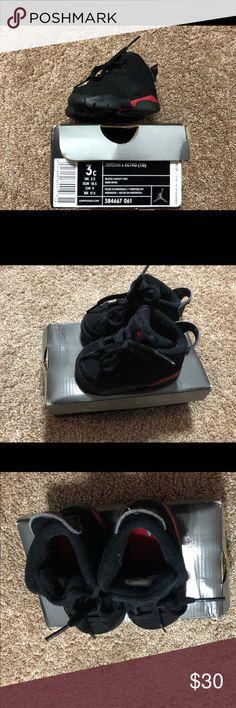 Baby Jordan 6 size 3c
