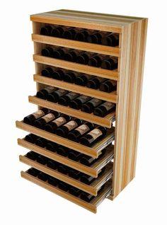 Vintner Elite Cabinetry - Pull Out Wine Bottle Cradle - 4' Height