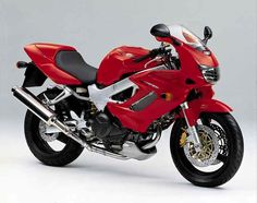 Honda VTR1000F Firestorm motorcycle review - Side view