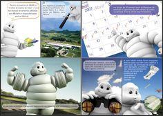 Flyer de histórias em quadrinhos, elaborado para falar sobre a fábrica e novo pneu Michelin.