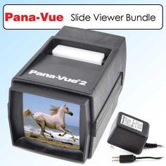 Panavue Pana-Vue 6562 Photo Film Slide Viewer #2 FPA002 Bundle $49.95