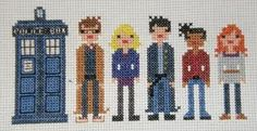 The 10th Doctor And His Companions From Doctor Who