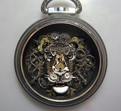 Artist Recycles Broken Watch Parts Into Amazing Miniature ...