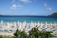 Hotel St Barth Isle de France: Spiagga dell'hotel - Anse De Flamands