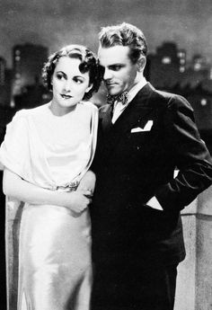 James Cagney and Olivia de Havilland in The Irish In Us, 1935. Made It Ma!! Top Of The World!!