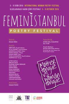 #feministanbul #poetry #festival #poster #afiş