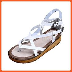Dear Time Women Creepers Thick Sole Sandals US 7 - Sandals for women (*Amazon Partner-Link)