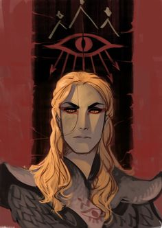 First age Sauron, this pic was a part of a strip about Gorlim's treachery