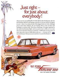 vintage everyday: Vintage Advertising Posters of Cars and Trucks