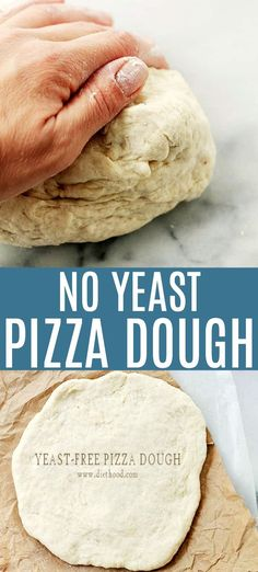 Basic Pizza Dough Recipe No Yeast. Our Favorite Basic Pizza Dough Good Cook Good Cook. Paleo Pizza Dough Recipe For Paleo Pizza Crust. Home and Family Pizza Sans Levain, Pain Pizza, Good Pizza, Quick Pizza, The Best, Naan, Easy Meals, Cooking Recipes, Crockpot Recipes