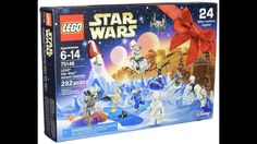 LEGO Star Wars Advent Calendar 2016 - Includes 8 mini figures and and assortment of vehicles, aircraft and weapons. Top 10 Christmas Toys, Christmas 2016, Christmas Decor, Star Wars Set, Lego Star Wars, Advent Calendar 2016, Advent Calendars, Thing 1, Lego War