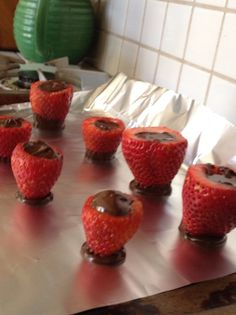 How to Make Chocolate Filled Strawberries Recipe