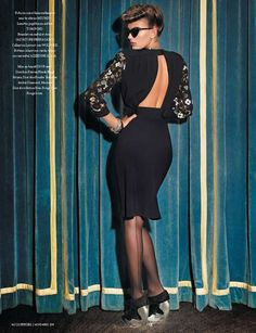 Mode de Circonstance - The fashion editorial 'Mode de Circonstance' seen in the November 2011 issue of L'Officiel Paris proves that French glamor never die...