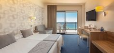 Habitación con vistas al mar - Hotel RH Corona del Mar Banidorm