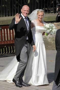 Princess Anne's daugther, Zara Philips wed long-term boyfriend, rugby player, Mike Tindall on 30th July at Canongate Kirk in Edinburgh.
