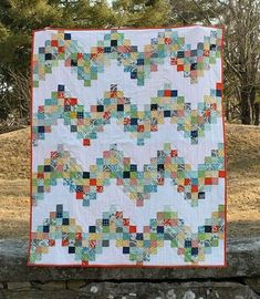 Good Day Sunshine: A Scrappy Quilt Tutorial   Sew Mama Sew   Outstanding sewing, quilting, and needlework tutorials since 2005.