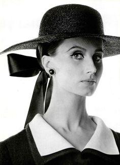 Bettina Lauer for Yves Saint Laurent, photo by Jean Louis Guégan, 1964