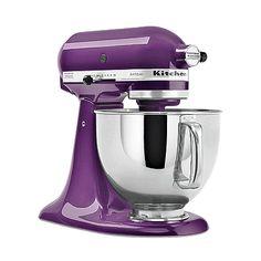 Purple Kitchen Aide Stand Mixer | https://mykitchenaidappliances.wordpress.com/2010/10/16/kitchen-aid-stand-mixer/