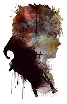 David Bowie // Labyrinth // Jareth the Goblin King by NerdgasmsByKat