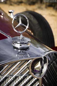 desertmotors:  3-Point Star from the '30s 1938 Mercedes-Benz 540K Cabriolet 'A' Coachwork by Sindelfingen