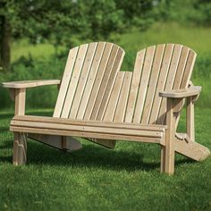 Adirondack Bench Templates with Plan