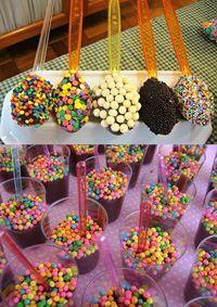Brigadeiro: formas criativas para servir na festa do filhote!
