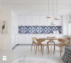 Apartament w Skandynawskim stylu - Kuchnia, styl skandynawski - zdjęcie od Optim Group Architecture & Design