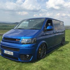 This Volkswagen Transporter was built by Andi Riley from Transformations in Wakefield, England. Andi calls it the because the van is powered by a complete Audi powertrain. Vw Classic, Ford Classic Cars, Vw T4 Tuning, Vw Engine, Engine Swap, Vw Transporter Van, Vw T5 Campervan, Van Storage, Vw Camper