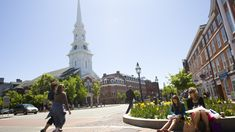 Downtown Portsmouth, NH has a lot to offer visitors and residents alike.