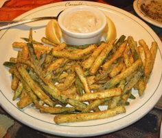 I loveeee it at Carrabba's, Hope this is great also!!   Carrabba's Italian Grill Copycat Recipes: Zucchini Fritte